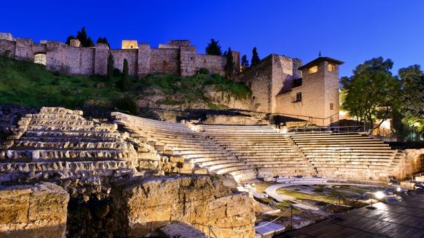 Teatro Romano de Málaga en el Día Internacional de los Monumentos y Sitios