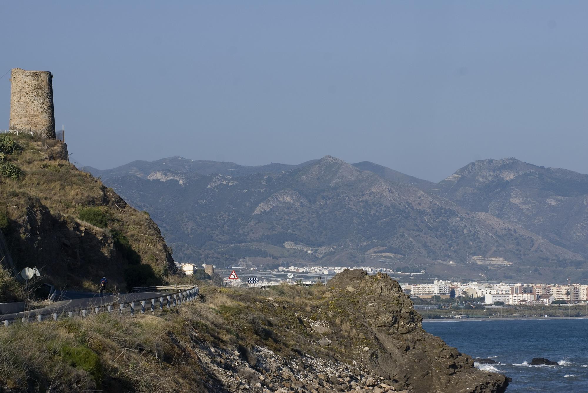 Torres vigía en Andalucía