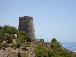 Torres vigías de Andalucía