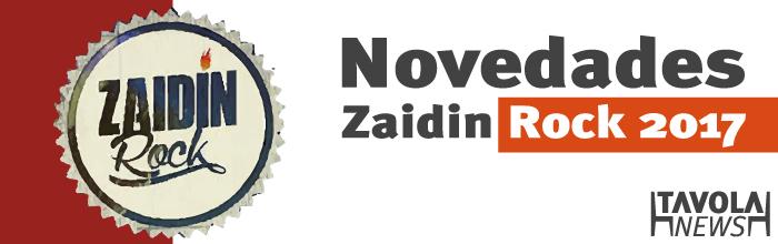 Novedades en el Zaidín Rock 2017