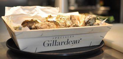 Ostras francesa Guillardeau