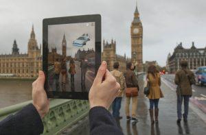 Realidad aumentada tablet