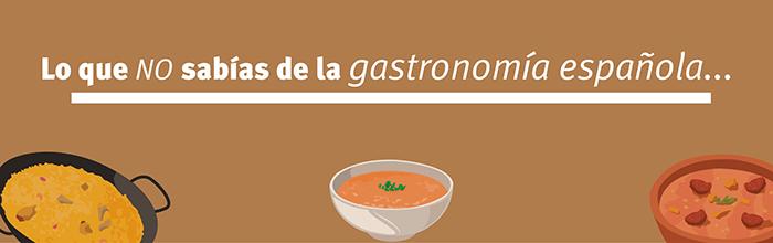 6 curiosidades que no sabías de la gastronomía española