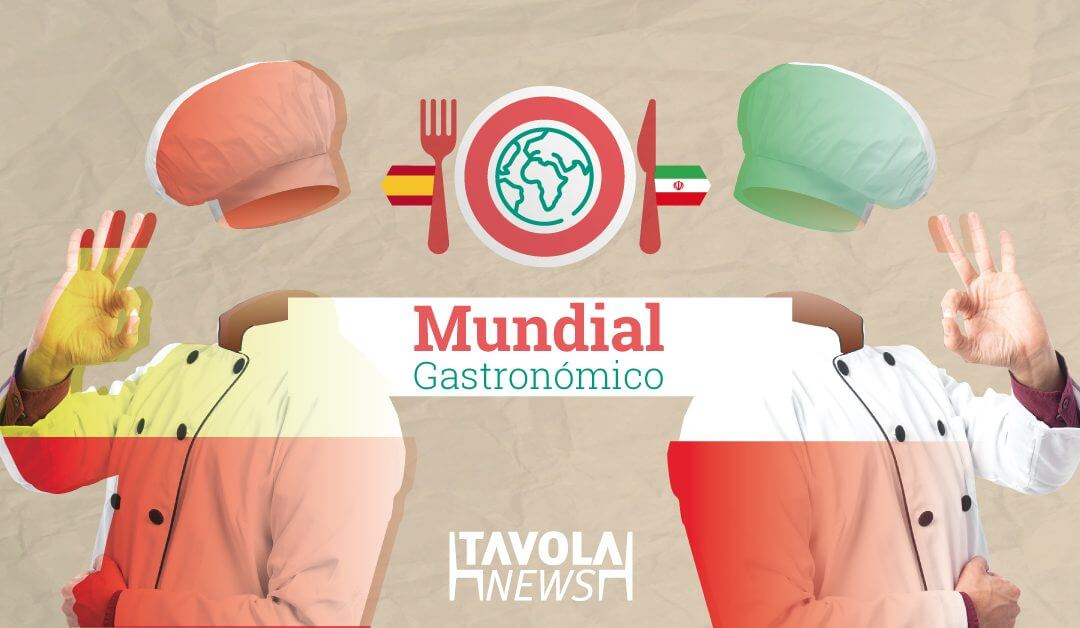 Mundial gastronómico: España – Irán